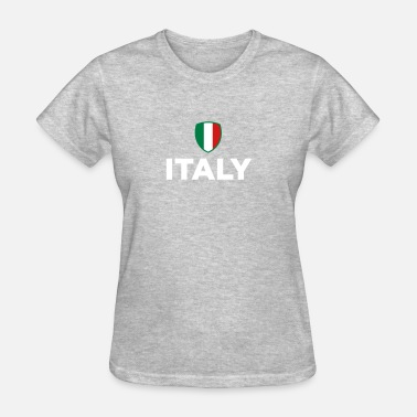 Italy Flag Cities National Flag Of Italy - Women's T-Shirt
