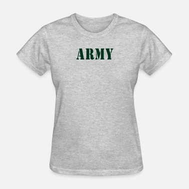 Army Baby Baby Army Design. Funny - Women's T-Shirt
