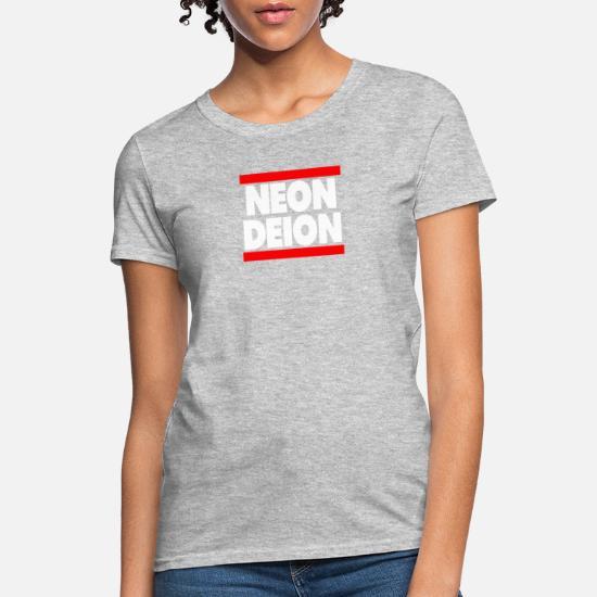 innovative design 556f3 32fb7 Neon Deion Sanders Primetime Atlanta Sf Women's T-Shirt ...