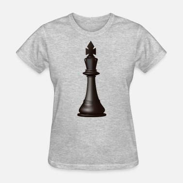 b694f35b Black King Chess Piece Women's Premium T-Shirt | Spreadshirt