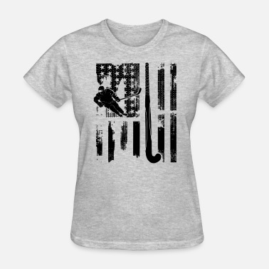 Field Hockey Flag Field Hockey Flag Shirt - Women's T-Shirt