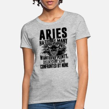 Confront Aries Confronted By None Shirt - Women's T-Shirt