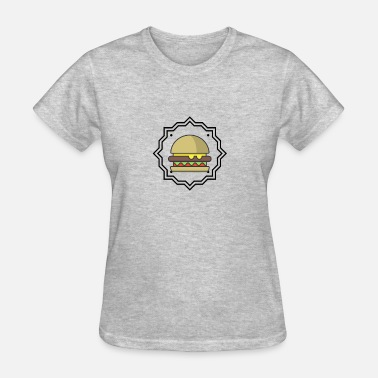 Meaty Burger Lovers - Women's T-Shirt