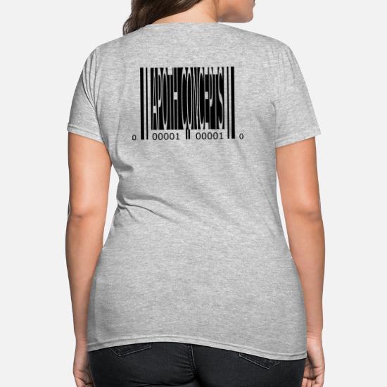 Apoth Concepts 2 barcode (vector) Women's T-Shirt | Spreadshirt