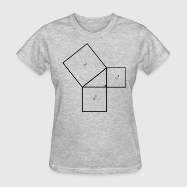 Pythagorean Theorem - Women's T-Shirt