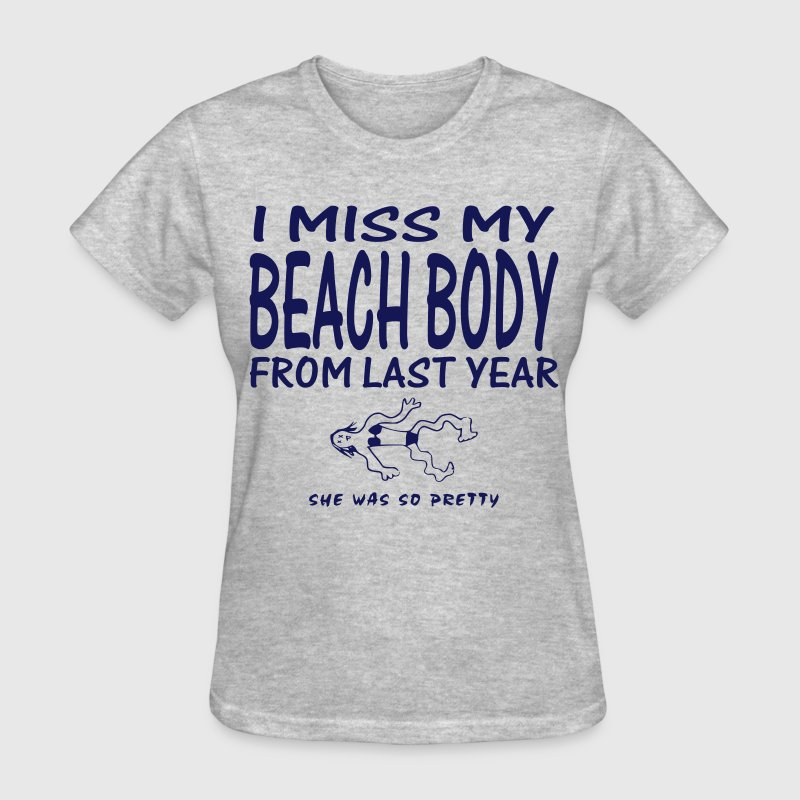 Humorous Beach Body - Women's T-Shirt