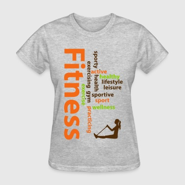 Fitness words - Women's T-Shirt