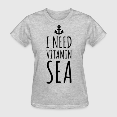 Vitamin Sea  - Women's T-Shirt