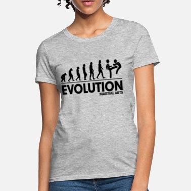 Evolution Evolution Martial Arts FUNNY - Women's T-Shirt