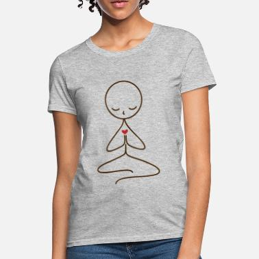 Meditate meditating - Women's T-Shirt