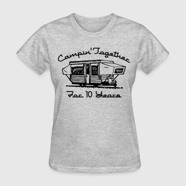 Camping Together 10 Years - Women's T-Shirt