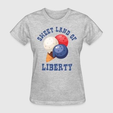 Ice Cream Cone 4th - Women's T-Shirt