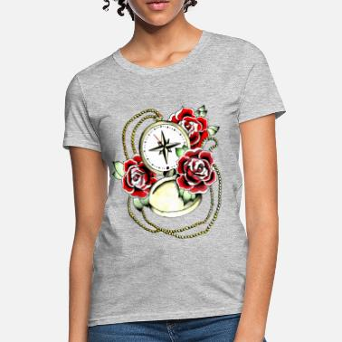 compass and rose - Women's T-Shirt