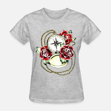 Compass Rose compass and rose - Women's T-Shirt