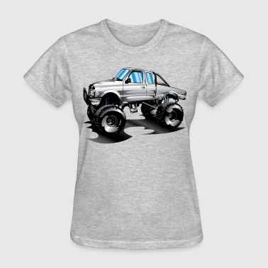 Lifted 4x4 Ford Truck - Women's T-Shirt