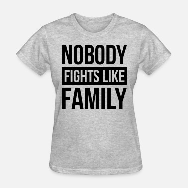 Legends Of Tomorrow NOBODY FIGHTS LIKE FAMILY - Women's T-Shirt