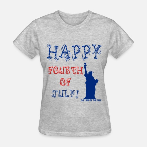 Fourth Of July Shirt Designs | Fourth Of July Tee For Women Women S T Shirt Spreadshirt