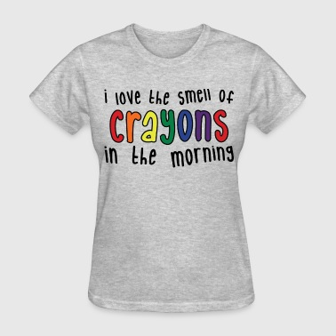 Crayons - Women's T-Shirt