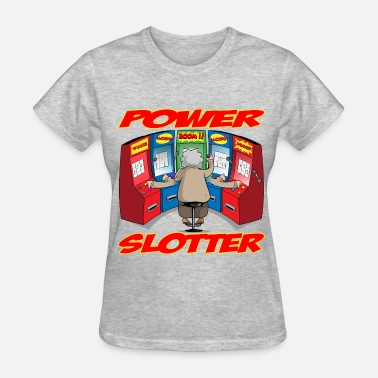 Slot THE POWER SLOTTER WITH TEXT - Women's T-Shirt