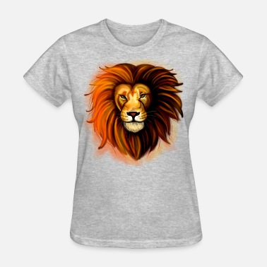 Sticker Lion - Women's T-Shirt