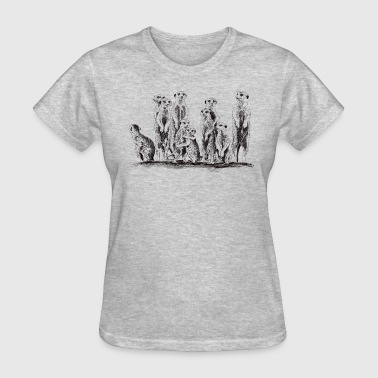 Meerkats - Women's T-Shirt