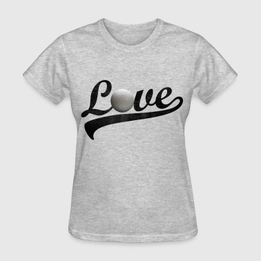 love golf - Women's T-Shirt