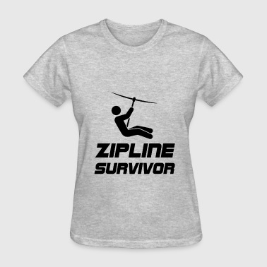 Zip Line Zip Line Survivor - Women's T-Shirt