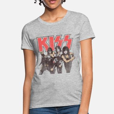 Music Kiss Shout It Out Loud - Women's T-Shirt