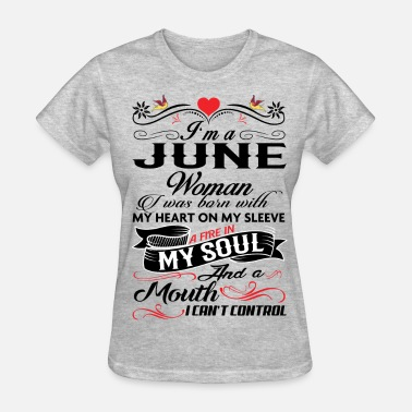"""june Woman"" JUNE  WOMAN - Women's T-Shirt"