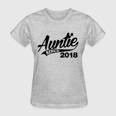 Auntie Since 2018 - Women's T-Shirt