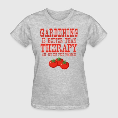 Gardening Therapy Tomatoes - Women's T-Shirt