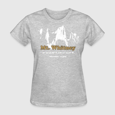 Rushmore MT Whitney Gold - Women's T-Shirt