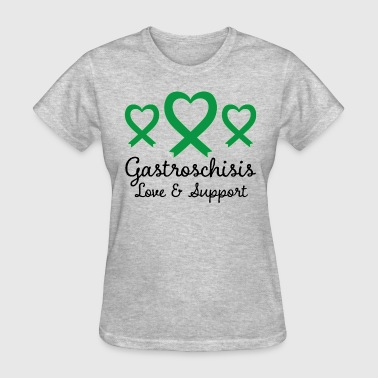 Gastroschisis Support Ribbon Awareness - Women's T-Shirt