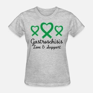 Gastroschisis Gastroschisis Support Ribbon Awareness - Women's T-Shirt