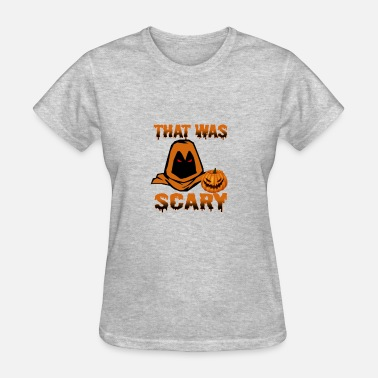 Scary Designs That Was Scary - Women's T-Shirt