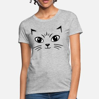 Cat Face Cat Face - Women's T-Shirt