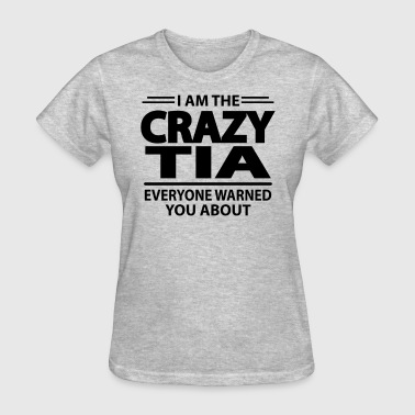 Crazy Tia - Women's T-Shirt