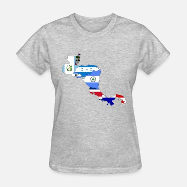 Central Europe central america - Women's T-Shirt