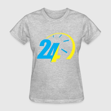 24 Hour 24 Hours - Women's T-Shirt