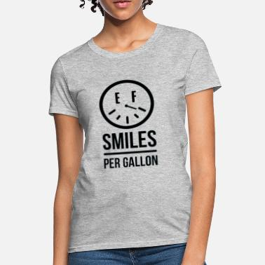 Gallon Dude in Blue Smiles Women's T-Shirts - Women's T-Shirt