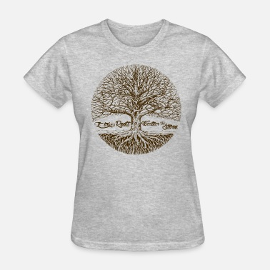 Tree Roots - Women's T-Shirt