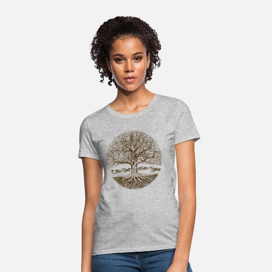 Family T-Shirts - Roots - Women's T-Shirt heather gray