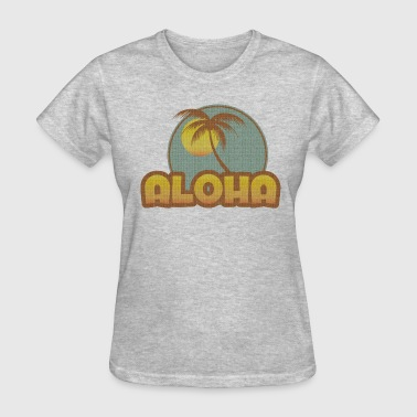 Aloha Palm - Women's T-Shirt