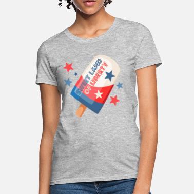 1f04b902b8af 4th Of July Ice Cream Pop 4th - Women's T-Shirt