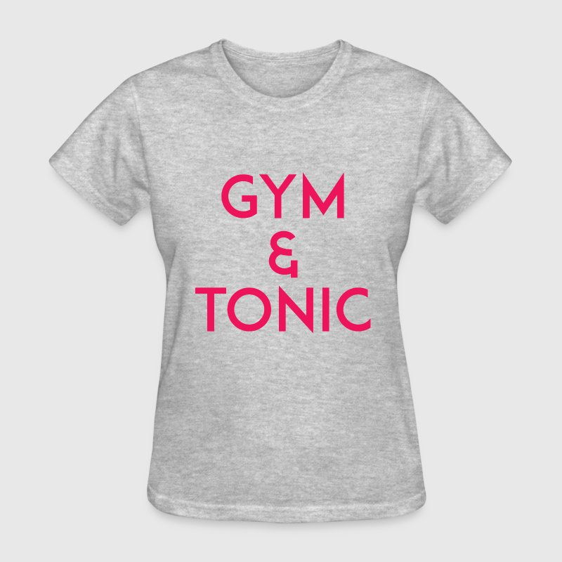 Gym and Tonic Pink - Women's T-Shirt