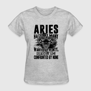 Confronted Aries Confronted By None Shirt - Women's T-Shirt