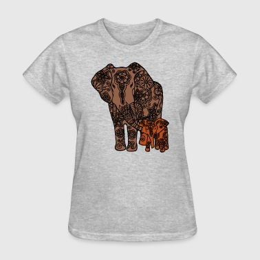 Elephant Family Shirt - Women's T-Shirt