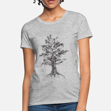 Sketch Tree sketch - Women's T-Shirt