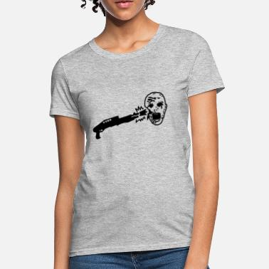 Shoot Em Up Shoot Zombies - Women's T-Shirt