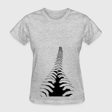 finger zip - Women's T-Shirt